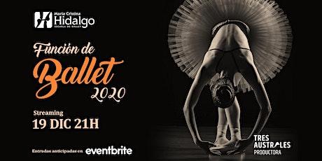 """Función de ballet 2020, de la Escuela de Ballet """"María Cristina Hidalgo"""" boletos"""