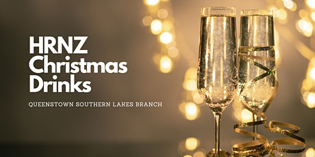 QUEENSTOWN BRANCH: HRNZ Christmas Drinks tickets