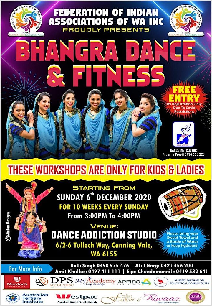 FREE BHANGRA DANCE CUM FITNESS CLASSES image