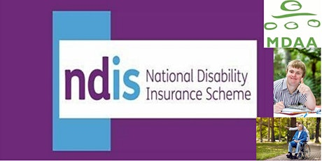 FREE NDIS Info session and Q&A with MDAA tickets