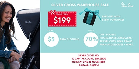 Silver Cross WAREHOUSE SALE!! tickets