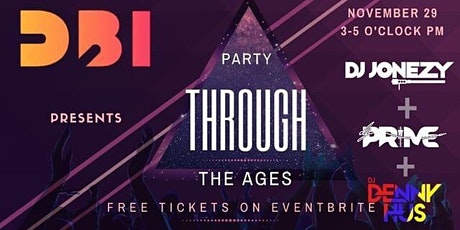 Party Through The Ages tickets