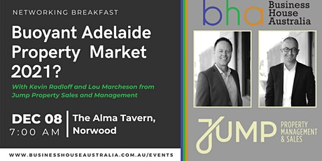 December Networking event  - Buoyant Adelaide Property Market ? tickets