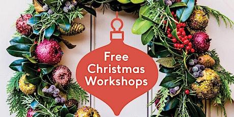 FREE Adult Christmas Wreath Workshop tickets