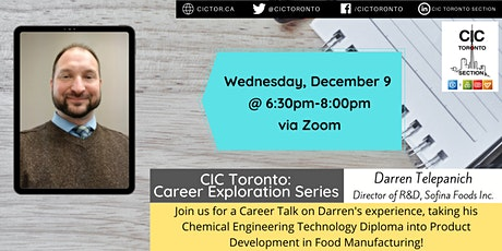 Career Exploration Series with Darren Telepanich, Director of R&D tickets