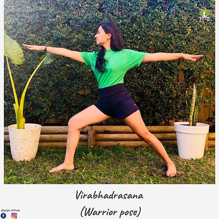 Sunday morning Yoga in Paramatta park with Divya image