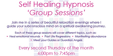 Hypnosis for Self- Healing tickets