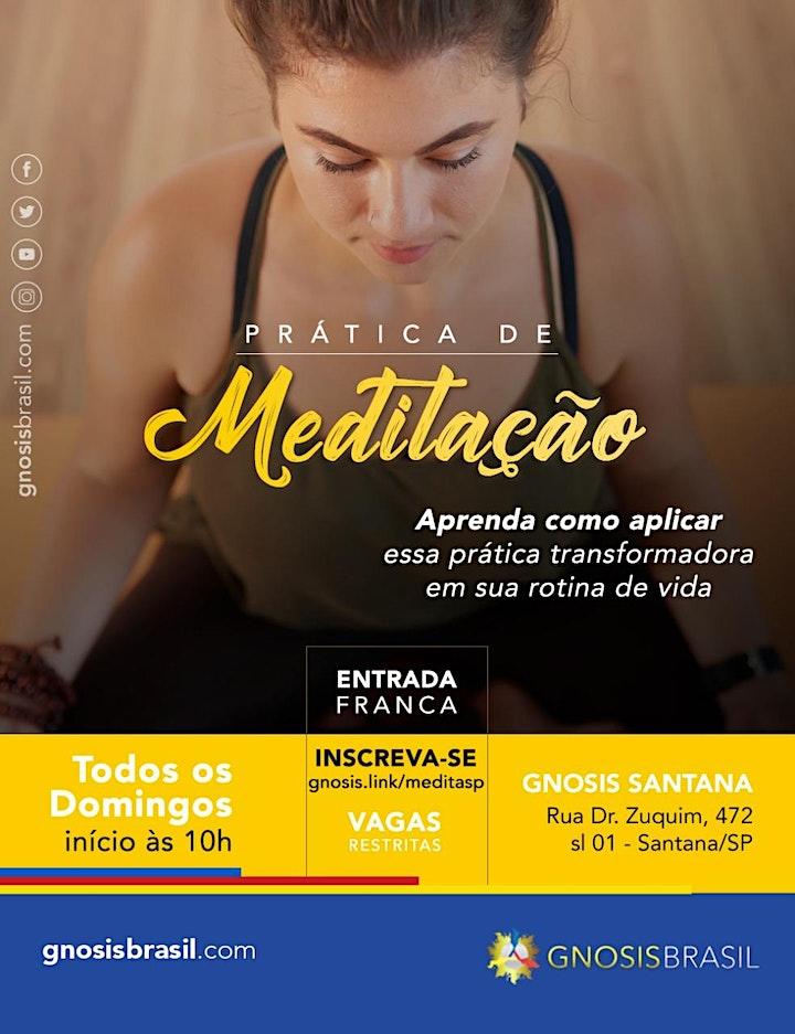 Imagem do evento Aula de Meditação (Unidade Santana)