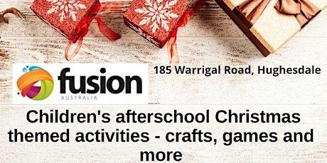 Children's Afterschool Christmas Activities tickets