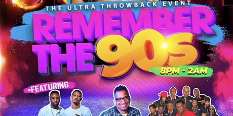 REMEMBER THE 90s tickets