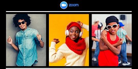 Enjoy 7day FREE trial of Afrobeat, Soca, Dancehall & Hip Hop dances on Zoom tickets