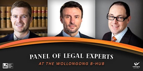 Small Business Legal Experts Panel Discussion - Wollongong B-Hub tickets