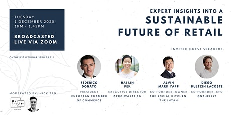 Expert Insights into a Sustainable Future of Retail Webinar tickets