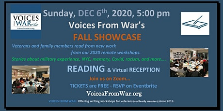 Voices From War FALL SHOWCASE - Readings from New Work tickets
