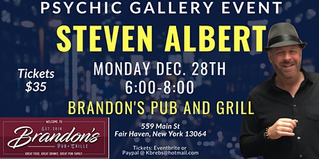 Steven Albert: Psychic Medium Gallery Event  Brandons tickets