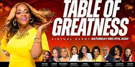 TABLE OF GREATNESS tickets