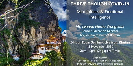 Thrive Through COVID-19 (Mindfulness & Emotional Intelligence) 17 Dec 2020 tickets