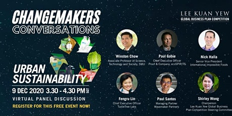 Changemakers Conversations: Urban Sustainability tickets