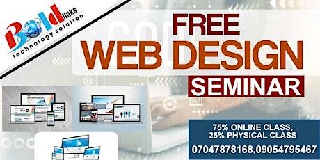 Free Web Design Seminar tickets