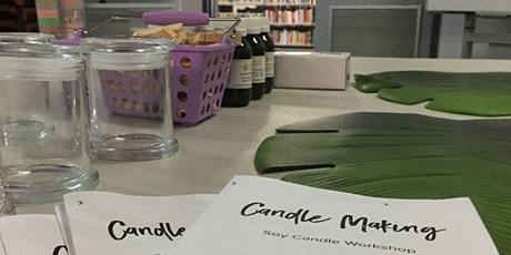 Candle Making @ the Fremantle Youth Library Lounge tickets
