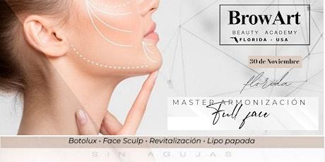 """Hazte Master en Armonización Facial  """"Full Face""""  - Curso Online entradas"""
