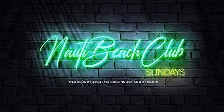 Nauti Beach Club Sundays tickets