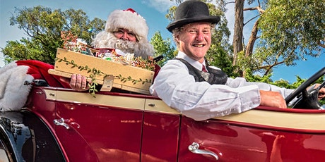 CHILDRENS  Christmas: locally- sourced hampers chauffeur delivered by Santa