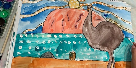 THE CHROMA KIDS HOLIDAY WATERCOLOUR PAINTING tickets
