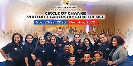 Weekend #2! - 2020 Circle of Change Virtual Leadership Experience! tickets