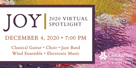 Joy: 2020 Virtual Spotlight tickets