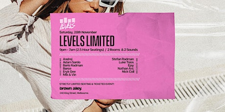LEVELS -  LIMITED EP02 tickets
