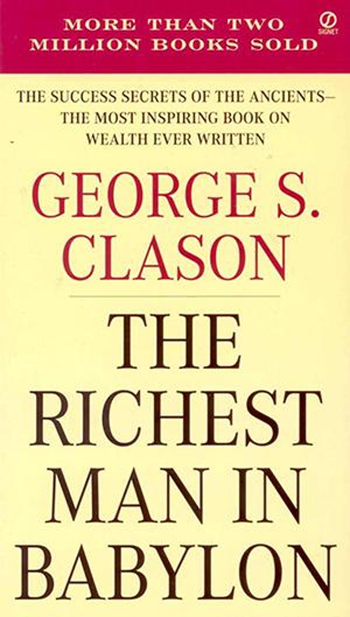 Book Review & Discussion : The Richest Man in Babylon image