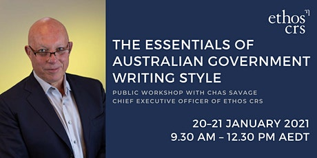SOLD OUT: WORKSHOP: The essentials of Australian Government writing style tickets