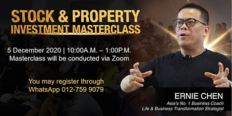 STOCK & PROPERTY INVESTMENT MASTERCLASS tickets