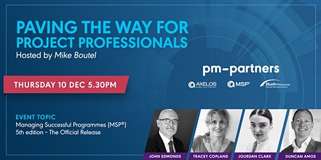 The Official Release: Managing Successful Programmes (MSP®) 5th edition tickets
