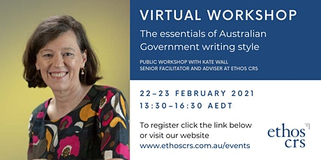The essentials of Australian Government writing style – February tickets