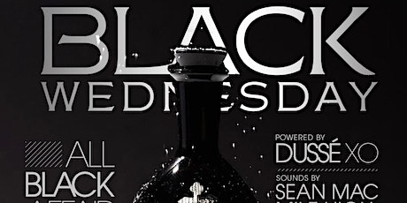 Dussé Black Wednesday — All Black Affair tickets
