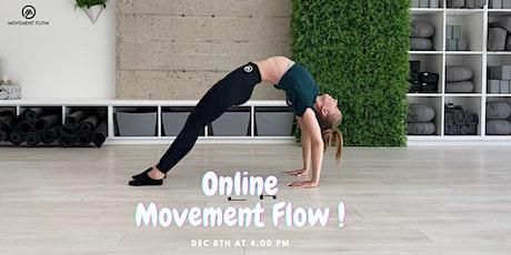 Movement Flow Class tickets