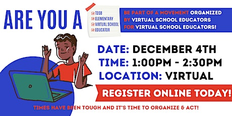 Virtual School Elementary Teacher TownHall tickets