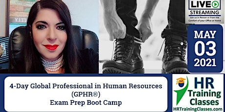 4-Day Global Professional in Human Resources (GPHR) Exam Prep Boot Camp biglietti