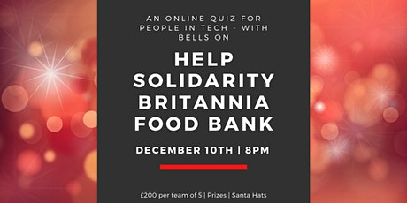 Solidaritech: A Quiz for Techies to Help Feed the Vulnerable in Winter tickets