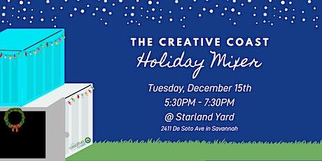 The Creative Coast Holiday Mixer tickets