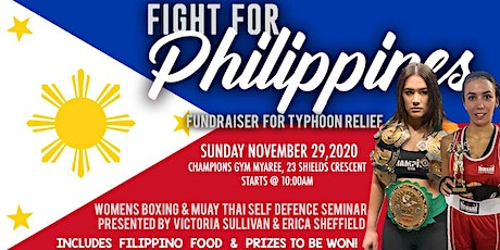 FIGHT FOR PHILIPPINES tickets