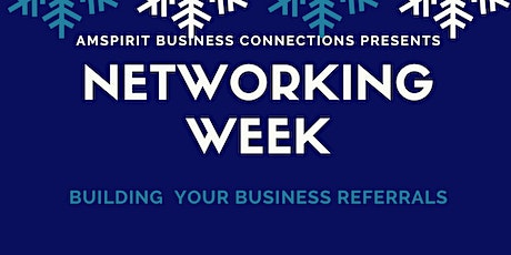Networking Week Virtual Networking Event tickets