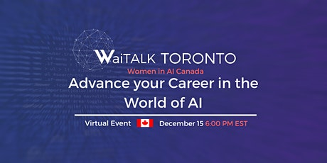 WaiTALK : Advance your Career in the world of AI tickets