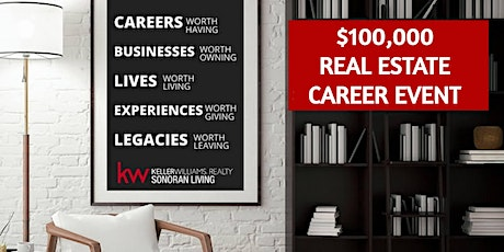 Real Estate Career Event- Get Our $100K A Year Playbook -Free Virtual Event tickets