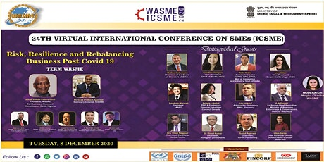 24TH INTERNATIONAL CONFERENCE FOR SMEs (ICSME) tickets