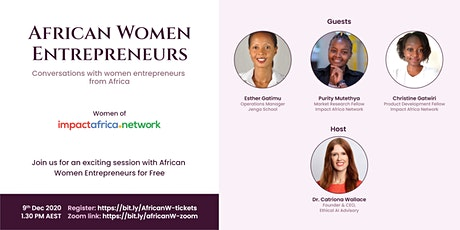 Power To Our Women- African Women Entrepreneurs tickets