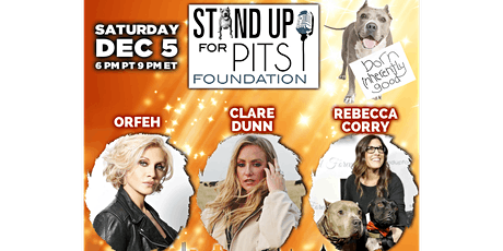 Stand Up For Pits tickets