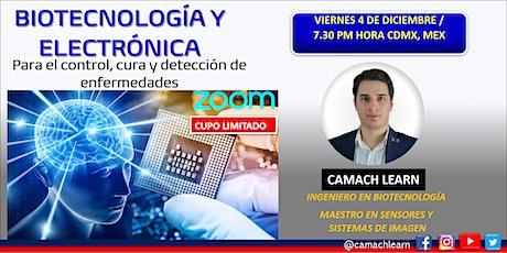Biotecnología y Electrónica. Para el control, cura y detección de enfermeda boletos